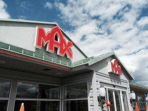 Last stop at Max burgers?