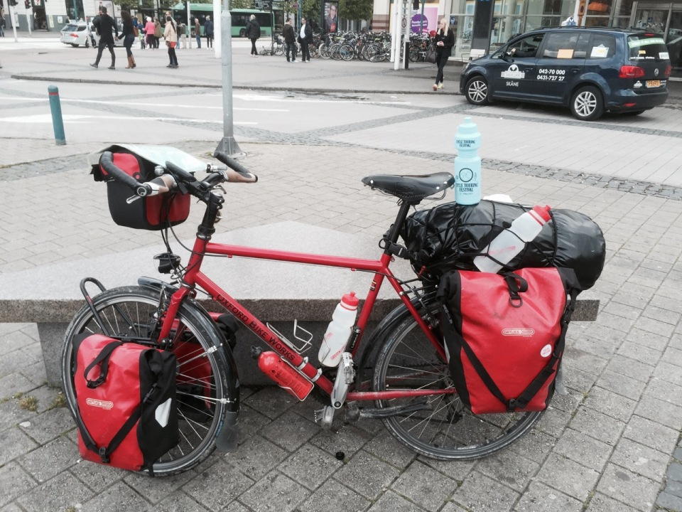 Helsingborg - made it to ferry terminal