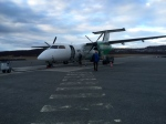 Last plane - a Dash 8, they were definitely getting smaller