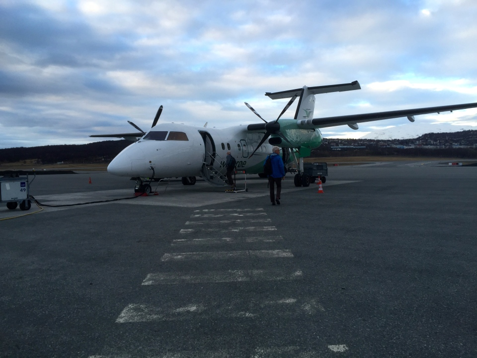 Last plane - a Dash 8, they were definitely getting smaller
