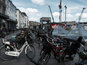 Copenhagen - bikes in abundance, bit of a building site though