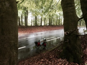 Break from the rain en-route to Vordingborg