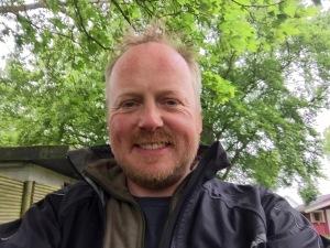 Arrived at campsite in Vordingborg - still smiling