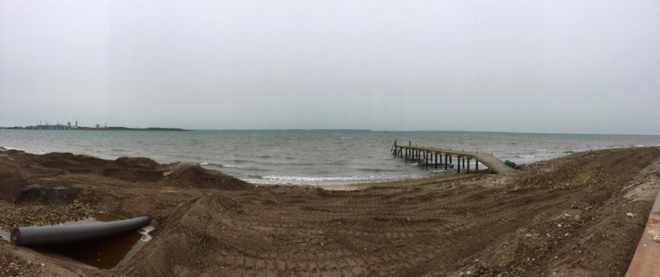 Ore Strand beach panorama