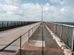 Bridge to Falster - windy cycle path