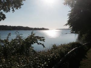 Svendborg Sund Camping morning view 2