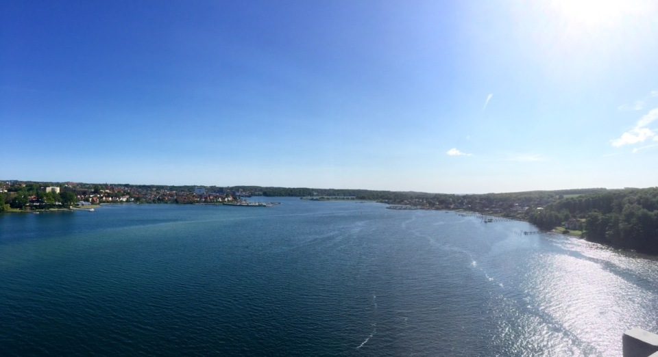 Svendborg Bridge panorama