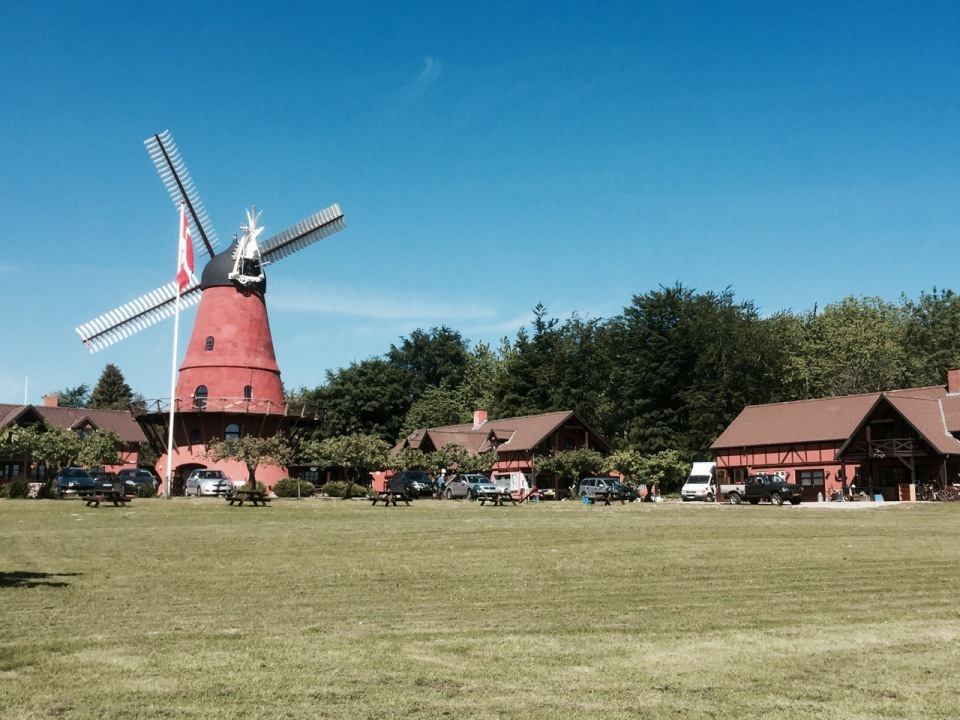 Windmill on the way to Faaborg
