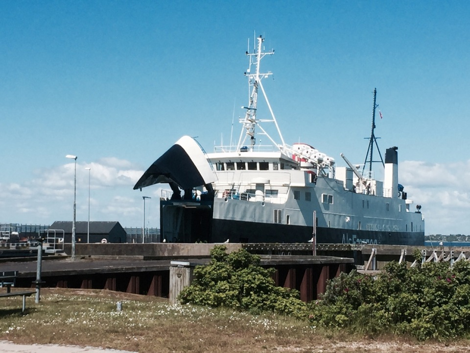Ferry to Fynshav