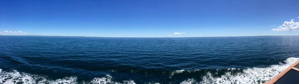 Ferry panorama - on way to Fynshav