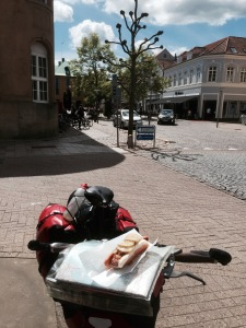 Sonderborg and first hotdog of the day