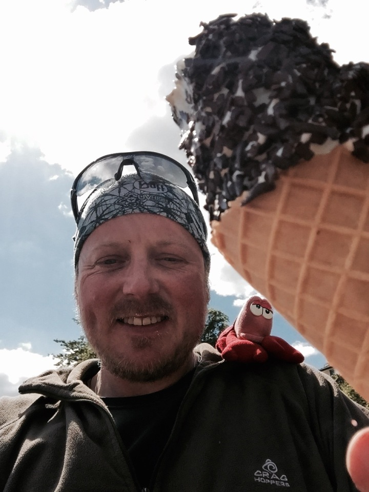 Followed by a humongous icecream (Lobster helped)