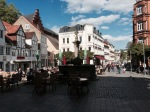 A square in Flensburg