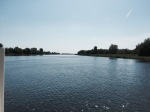 Crossing the Kanal - superb weather for it