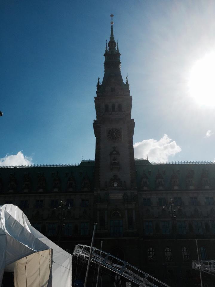 Hamburg Rathaus - town hall 2