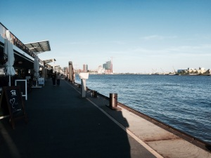 Waterfront - the Elbe