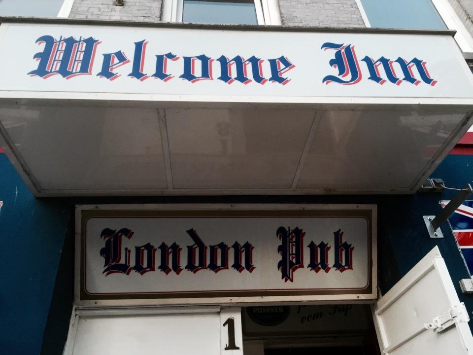 London Pub, St Pauli