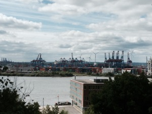 Bit of Hamburg port
