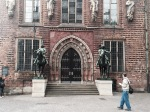 Bremen - knights on guard