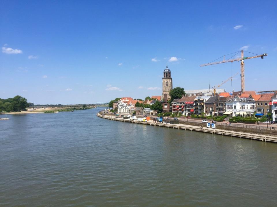 Bridge over the River in Deventer