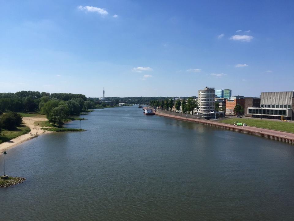 Bridge over the River IJssel in Arnhem