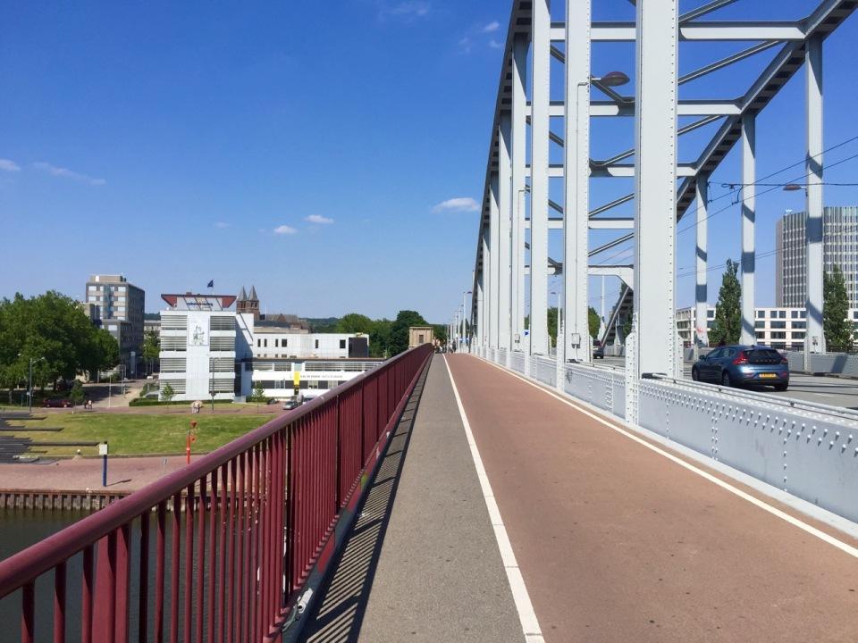 Bridge over the River IJssel in Arnhem 2