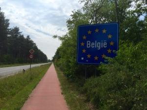 Into Belgium