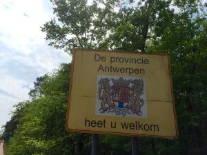 De province Antwerpen