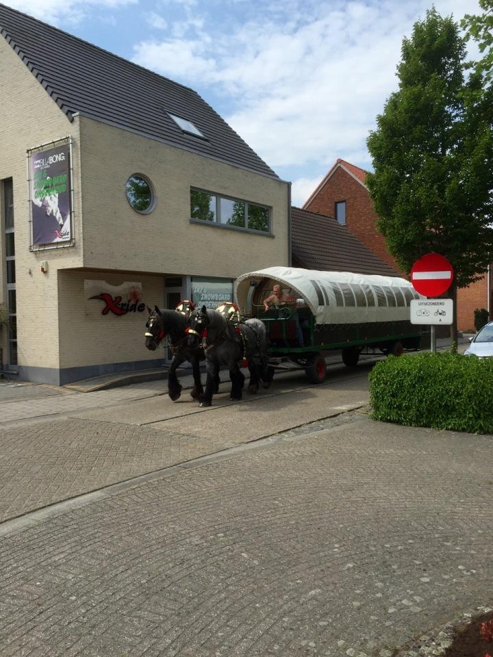 Horse drawn bus 1