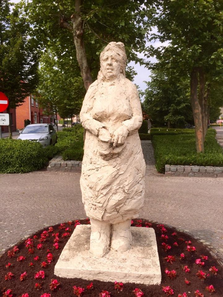 Slightly unnerving statue