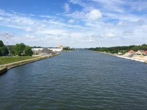 Albertkanaal in Belgium
