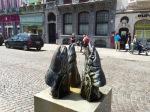 Mechelen - fishhead statue