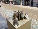 Mechelen lobster claw statue
