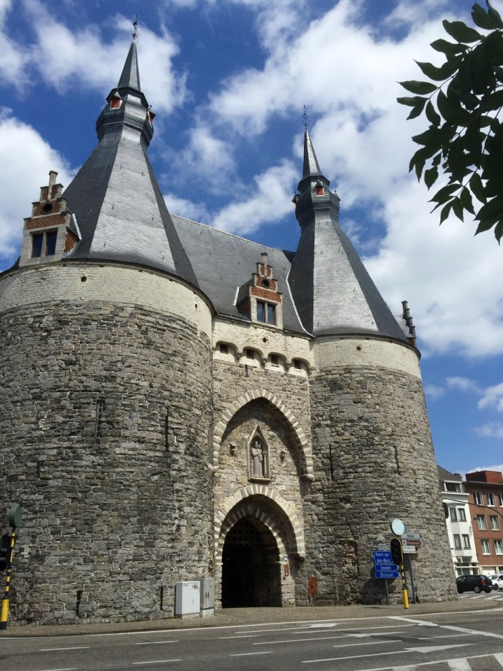 Part of the old town wall on way out of Mechelen