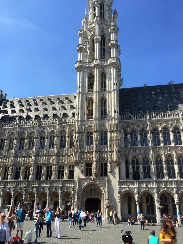 Brussels Grand Place - City Hall 1