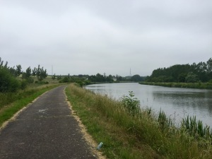 On the towpath to Charleroi