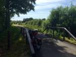 EV3 - nice quiet cycle path