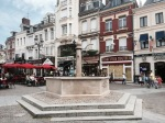 St.Quentin fountain in the centre