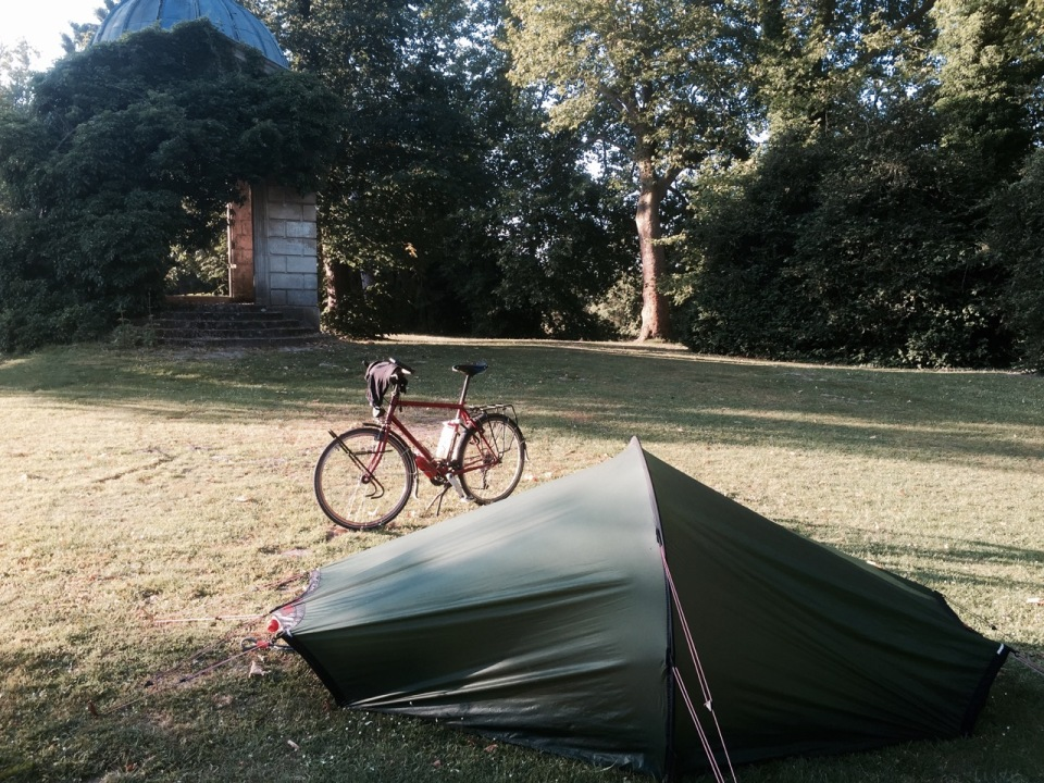 Camping spot in Vic-sur-Aisne