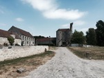 Orrouy - another ancient looking village with lots of painful cobbles