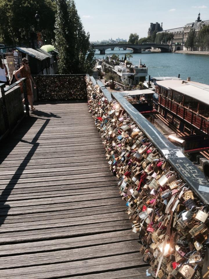 More padlocks - surprised bridge hasn't fallen down