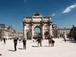 Arc de Triomphe du Carrousel - celebrates Napolean's victories