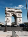 Arc de Triomphe - another more famous monument to Napolean's victories 2