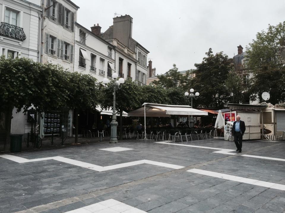 Fontainebleau centre