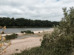 Camping on the banks of the Loire
