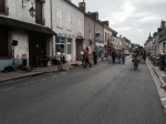 Chateauneuf-sur-Loire - streets closed for music festival