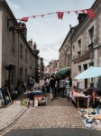 Beaugency Sunday market