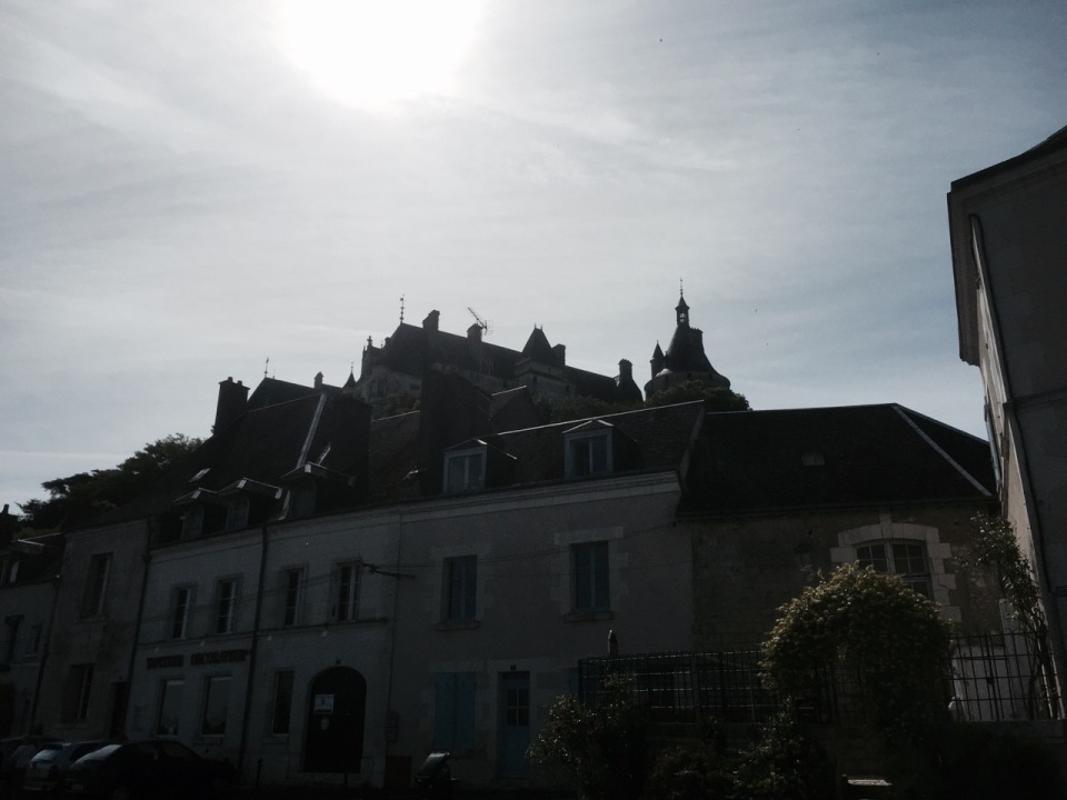 Chaumont Chateau - above houses