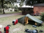 Camping at Chateau Rolandiere