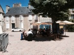 Reached Poitiers at lunch time